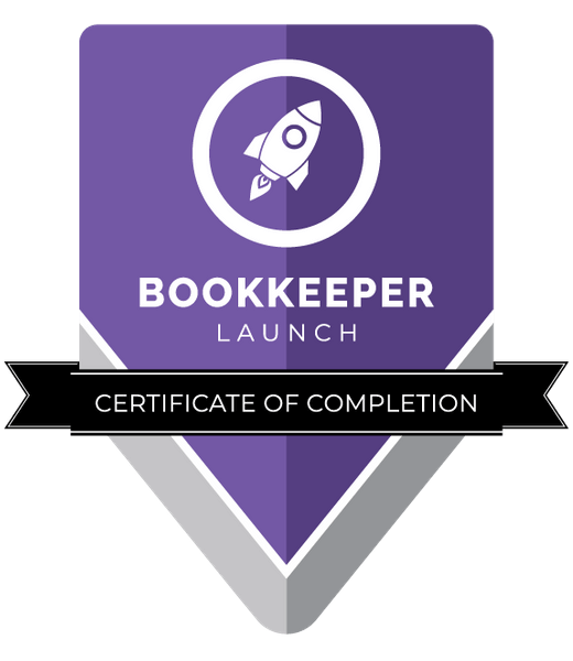 Bookkeeper Launch (BL) Certificate of Completion