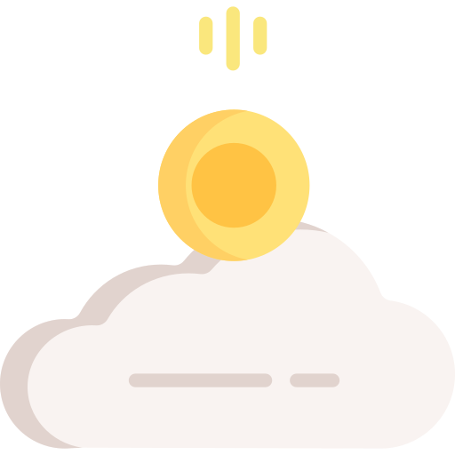 Cloud with money icon